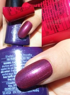 CND Shellac layering with Hot Chilis and many other options!!