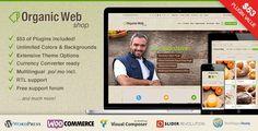 Organic Web Shop v2.6.13 – A Responsive WooCommerce Theme