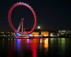 "I like go to London to visit the ""LONDON EYE"""