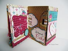 Accordian Tri-Fold Flap Album / Card Tute at Scor-pal and Bo Bunny Week-Day 2  - Project ideas using your Scor-Pal