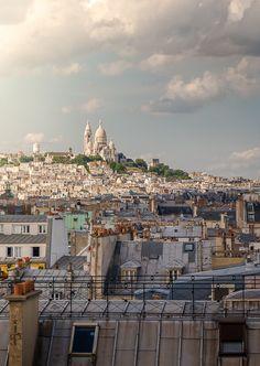 Colline de Montmartre, Paris.