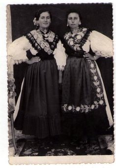 Croatian costumes