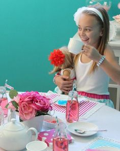 Valentine's Day Tea Party For Kids #ValentinesDay