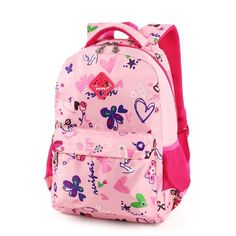 e5984bb7fb96 Children Butterfly Love School Backpack-Bags Base Women s Backpacks