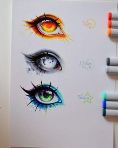 43 Ideas for eye drawing reference awesome Art Drawings Sketches, Cute Drawings, Sketches Of Eyes, Art Drawings Beautiful, Fantasy Drawings, Animae Drawings, Awesome Drawings, Cool Sketches, Pencil Drawings