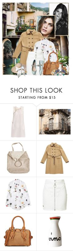 """""""Models: Elisa Sednaoui"""" by katieci ❤ liked on Polyvore featuring Vanity Fair, TIBI, Ermanno Scervino, N°21, WALL, Edition, Reverie, Monserat De Lucca, Dolce&Gabbana and Equipment"""