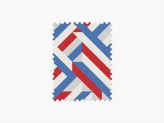 Dutch flag World Cup 2014 Stamps - Fubiz ™