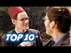 TOP 10 Moments From The Doctor Who 50th Anniversary Trailer
