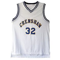 MOLPE Monica Wright 32 Crenshaw High School Basketball Je...