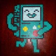 BMO Adventure Time perler beads by jsminnie7
