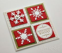 Simple die cut Snowflake card Use white glimmer paper! Homemade Christmas Cards, Christmas Cards To Make, Christmas Greeting Cards, Christmas Greetings, Homemade Cards, Handmade Christmas, Holiday Cards, Stampin Up Karten, Snowflake Cards