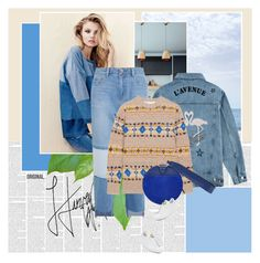 """It's a denim day"" by stephaniee90 ❤ liked on Polyvore featuring Être Cécile, H&M, Steve J & Yoni P, Victoria Beckham, Diane Von Furstenberg and Joshua's"