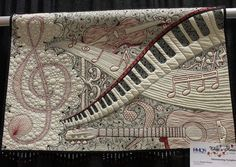 Shimmering Symphony by Karlee Porter.   Awesome quilting and applique