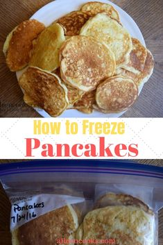 Do you want to know how to freeze pancakes? Read this tutorial for all of the best tips and tricks for freezing pancakes. Freeze Pancakes, Oven Pancakes, Pumpkin Pancakes, Best Meals To Freeze, Easy Meals, Whole Grain Pancakes, Frozen Pumpkin, Frozen Meals, Freezer Cooking