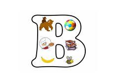* Letterpuzzel - Letter B 2 Letter, Letter Matching, Letter School, Alphabet, Teaching, Activities, Education, Art, Art Background