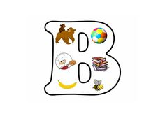 Letterpuzzel - Letter B