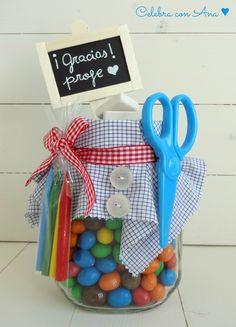 Bote de chuches para profes Candy jar