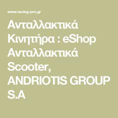 Ανταλλακτικά Κινητήρα : eShop Ανταλλακτικά Scooter, ANDRIOTIS GROUP S.A