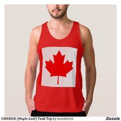 CANADA (Maple Leaf) Tank Top