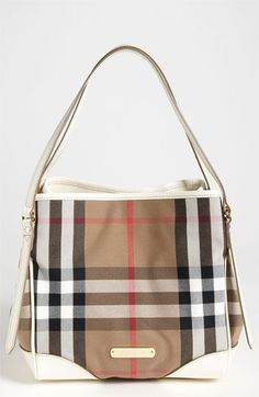 yo quiero!!!  Burberry 'House Check -Small' Tote $895.. is it so wrong for me to want this??