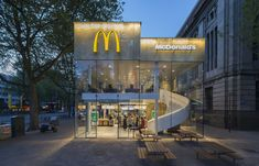 Gallery - McDonald's Pavilion on Coolsingel / mei architects and planners - 1
