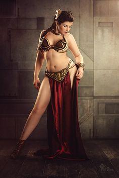 La Esmeralda als Princess Leia