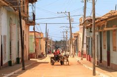 #Horse #wagon in #Trinidad ( #Cuba ) - #Travel #Photography #Cityscape