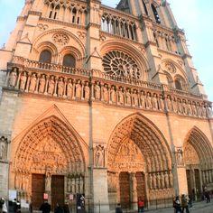 Notre Dame - Paris France #Travel visiting Quasimodo...........
