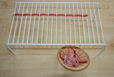 Weaving Ribbons, fine motor skill