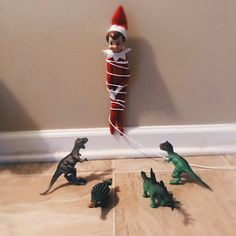 Elf in Trouble #elf #elfontheshelf #elfontheshelfideas #december #ideas #holidayspirit