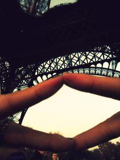 Throwing my diamonds up in Paris