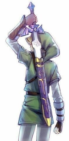 La espada maestra, atma favorita de Link