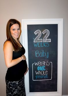 22 weeks preggo