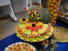 Fruit tray for catered event