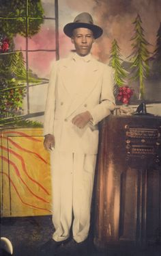 1940 Zoot Suit | Sci-Fi Party Line News Network – One final shout out to my grandpa