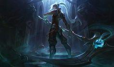 Soulhunter Kayn Splash Art - League of Legends