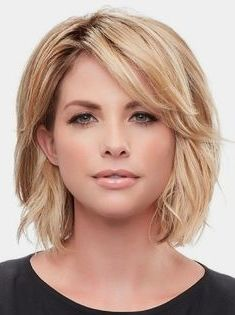 layered with full bangs with fine hair | Hair in 2019 ... |Full Hairstyles Fine Hair