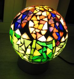 Mozaiek lamp