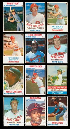 1976 Hostess Baseball Cards | 405) 1970s Hostess Baseball Card Boxes, Panels and Singles