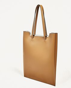 ZARA - WOMAN - JOIN LIFE TOTE WITH DETAIL
