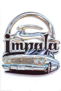 My first car, a 1963 Impala.