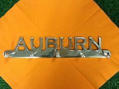 Auburn Wall Hanger by Tailgategoodsdotcom on Etsy, $15.00 College Store, Wall Hanger, Auburn, Gifts For Him, Best Gifts, Christmas Gifts, Gift Ideas, Unique Jewelry, Handmade Gifts