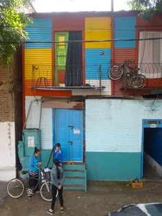 One of the most colorful but also dangerous neighborhoods of #BuenosAires -  #LaBoca