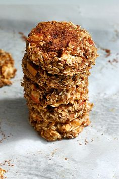 Apple Pie Breakfast Cookies  give you a cookie for breakfast. Who wouldn't love that?