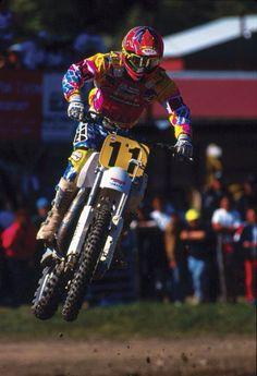 Damon Bradshaw Yamaha Motocross, Motocross Racer, Beast From The East, Off Road Racing, Vintage Motocross, Damon, Hare, Raiders, Trials