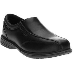 Tredsafe Men's Executive II Slip On Slip-Resistant Work Shoe