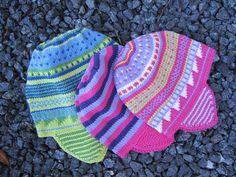 Smarte sommerhuer #knitting #design #handmade #gallerigavlen