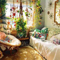 Bohemian Latest And Stylish Home decor Design And Life Style Ideas - Bohemian Latest And Stylish Home decor Design And Life Style Ideas - Stylish Home Decor, Retro Home Decor, Room Ideas Bedroom, Bedroom Decor, Cozy Bedroom, Bohemian House, Modern Bohemian, Bohemian Interior, Bohemian Style