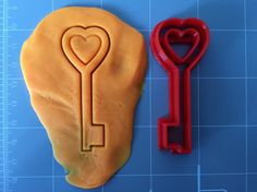 If you have a custom shape or logos in mind please contact us for your unique custom orders. This listing is for a Key Cookie Cutter , great size to make cookies for any fun occasions. The depth are a