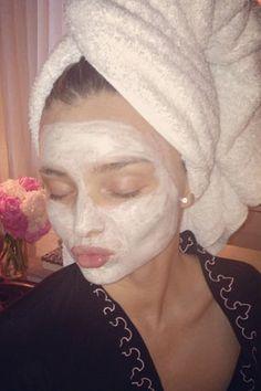 The 13 best celebrity face mask selfies spotted on Instagram: Miranda Kerr